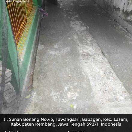 PEMBANGUNAN DRAINASE RT. 002 / RW. 001
